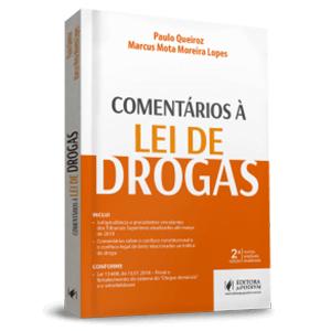 COMENTÁRIOS À LEI DE DROGAS (2018)